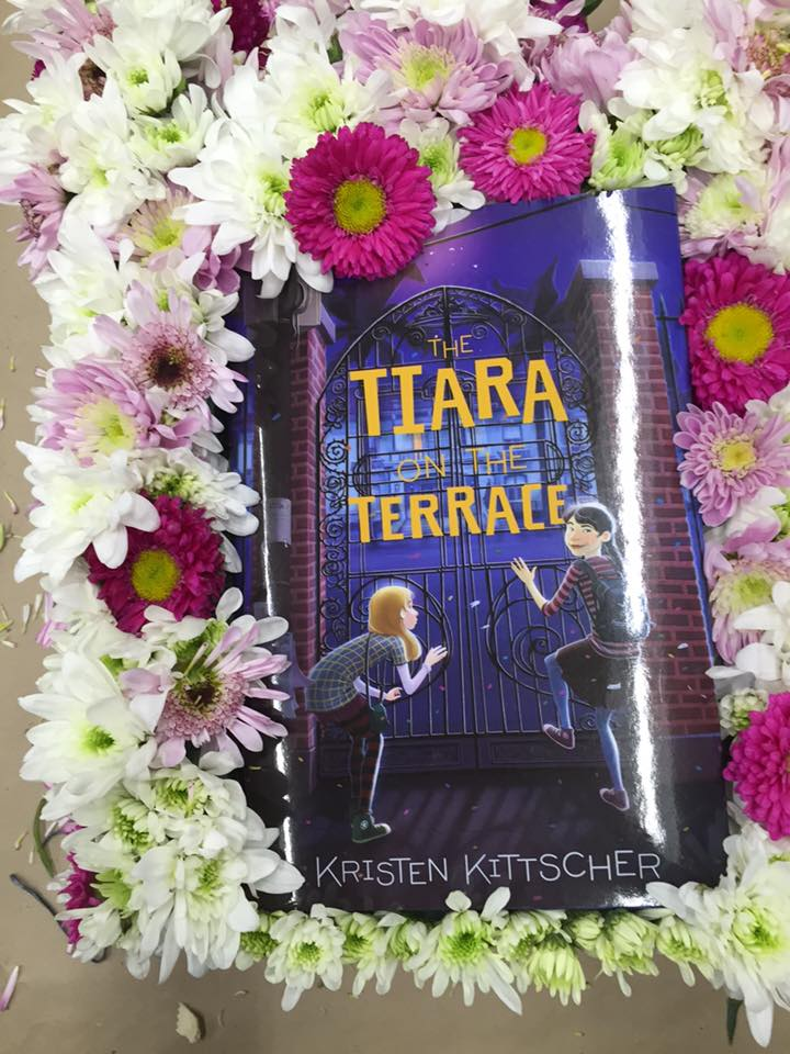 The tiara on the terrace signed books kristen kittscher for The terrace book
